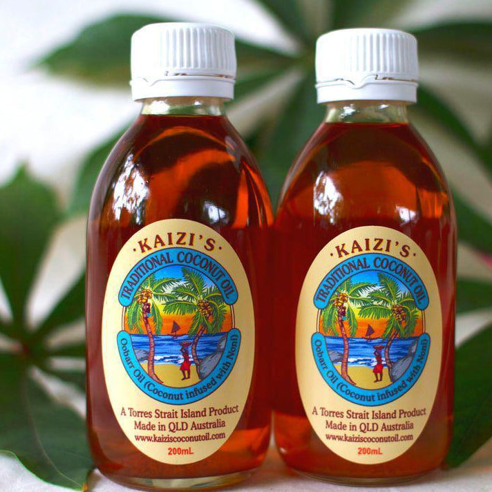 Kaizis Coconut Oil - Noni Blend 200ml-Kaizi's-Starwin Social Enterprise