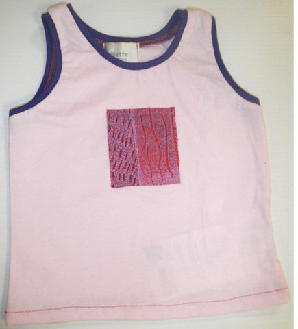 Starwin Social Enterprise, Mette Kids Singlet - Pink Purple