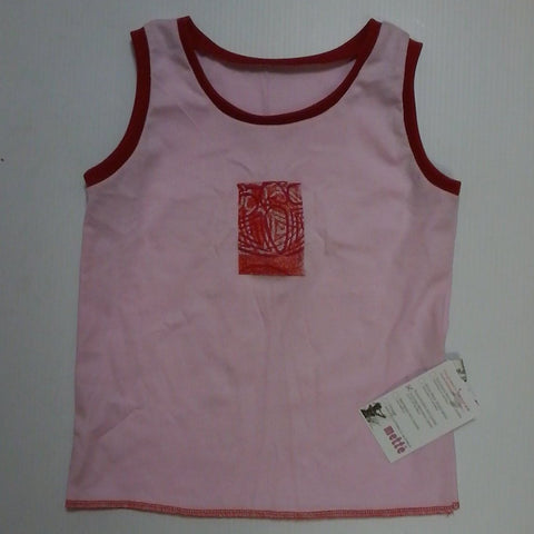 Starwin Social Enterprise, Mette Kids Singlet - Pink Red