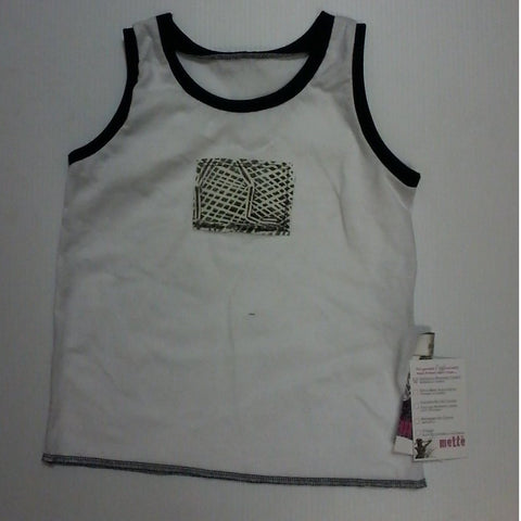 Starwin Social Enterprise, Mette Kids Singlet - White Black