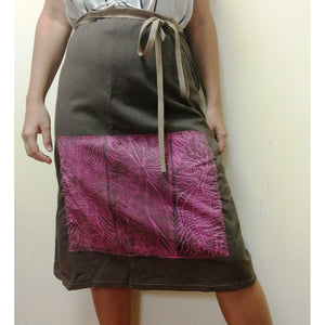 Mette Wrap Skirt - Babbarra Fabric-Mette Clothing-Starwin Social Enterprise