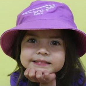 Starwin Social Enterprise, Mini Mals Mauve Bucket Hat - Baru