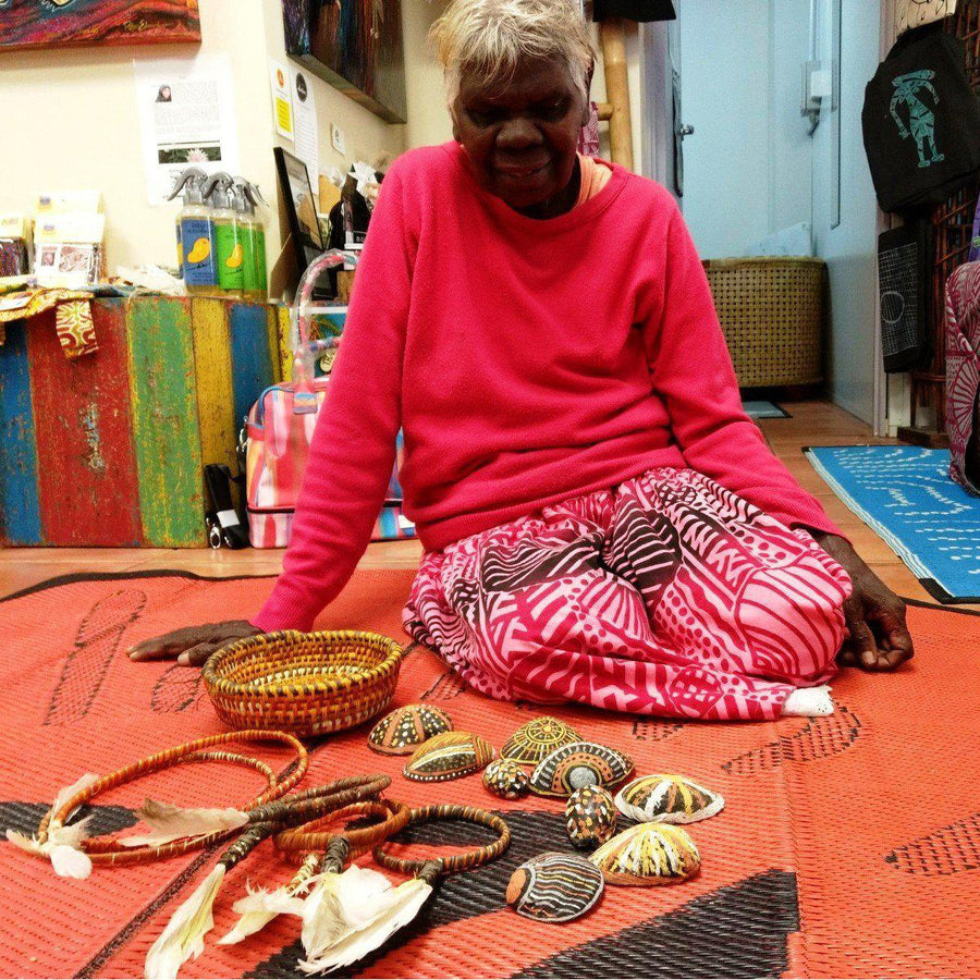 Starwin Social Enterprise, Tiwi Ceremonial Arm Bands - by Jacinta