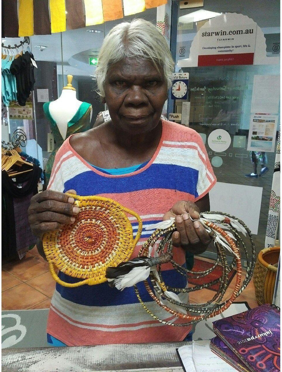 Starwin Social Enterprise, Tiwi Ceremonial Head Bands by Jacinta