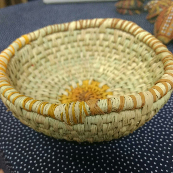 Starwin Social Enterprise, Tiwi Weaving - Basket Light by Jacinta