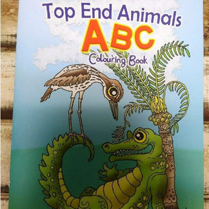 Starwin Social Enterprise, Top End Animals Colouring Book