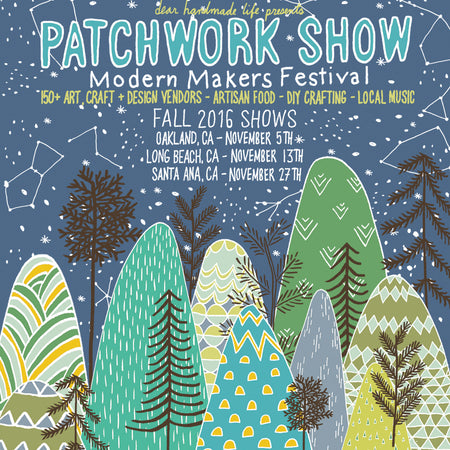 Join us at The Patchwork Show this Saturday!