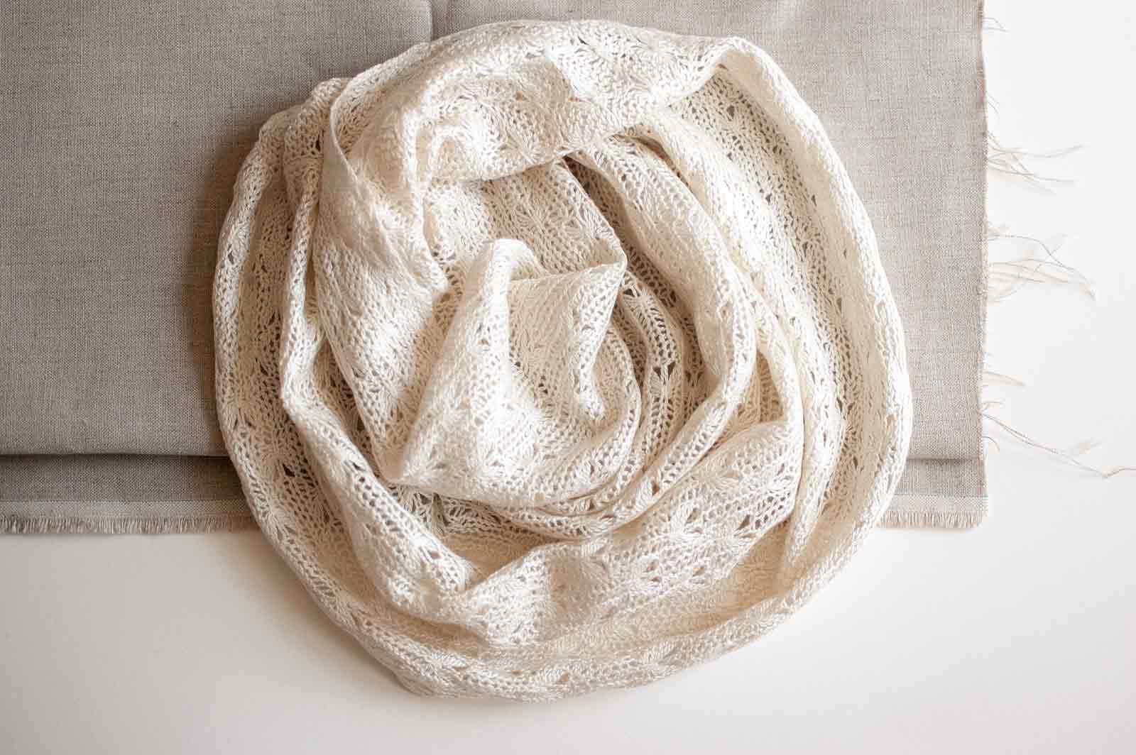 Silk and Cashmere Nasturtium Cowl Kits