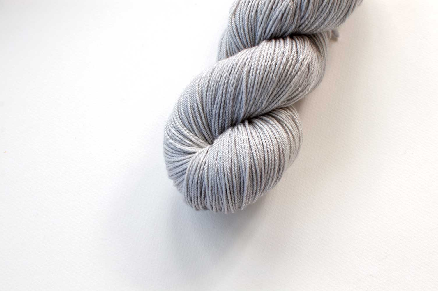 Bamboo Sock Mini Skein in Fog Grey