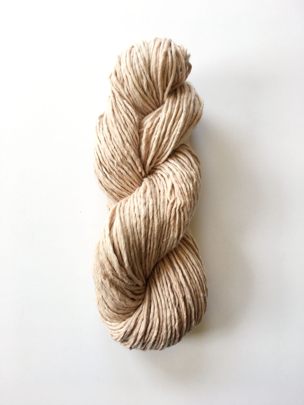 Mulberry Merino in Naturally Dyed in Sandstone