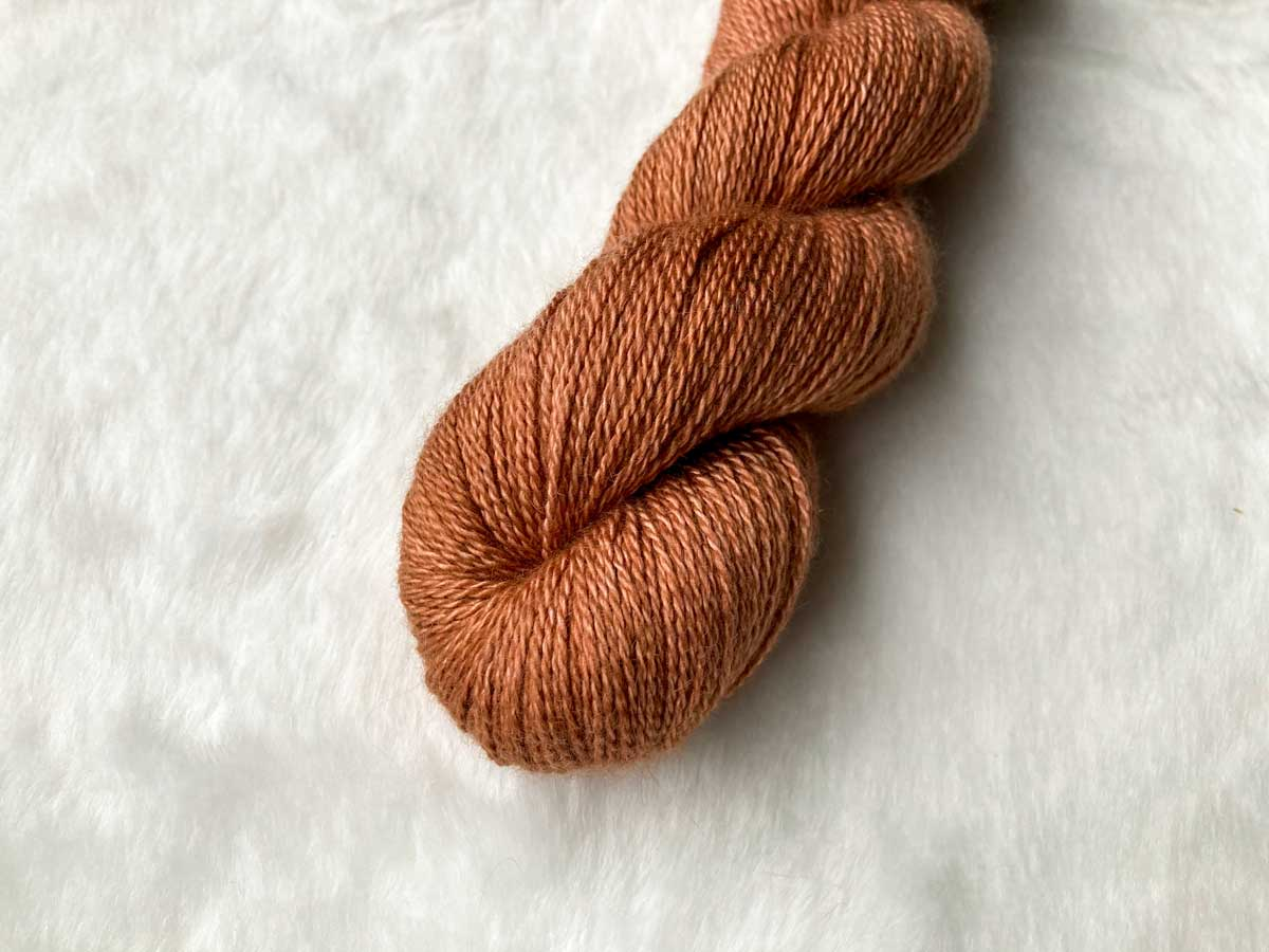 Silk Cashmere Cloud in Tea Rose
