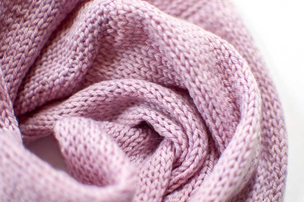Sample Sale // Cashmere Merino Möbius Loop Scarf in Lilac