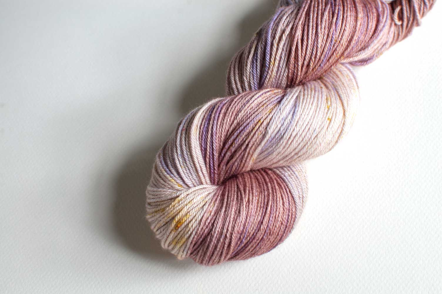 Bamboo Sock in Mauve #1