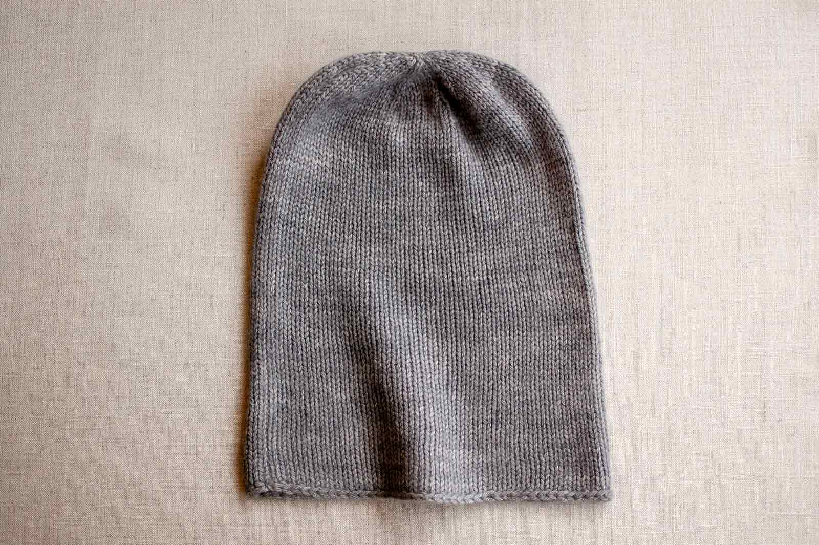 PDF Pattern Download // Knit Sock Hat
