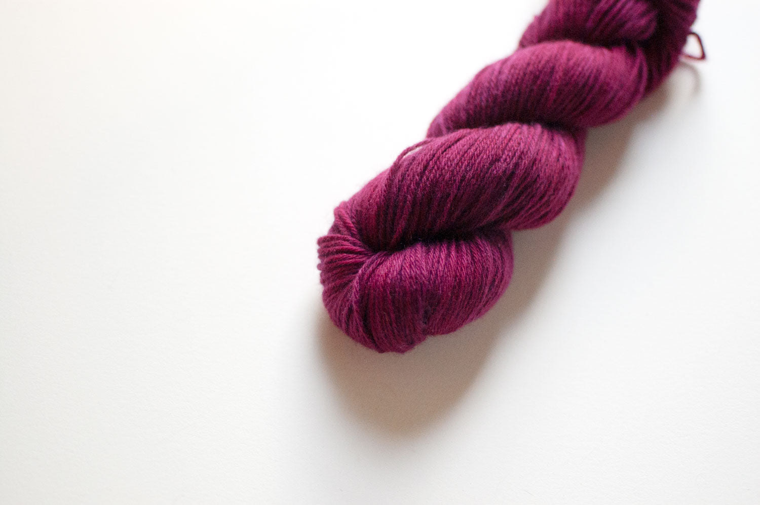 Pure Cashmere D.K. in Raspberry
