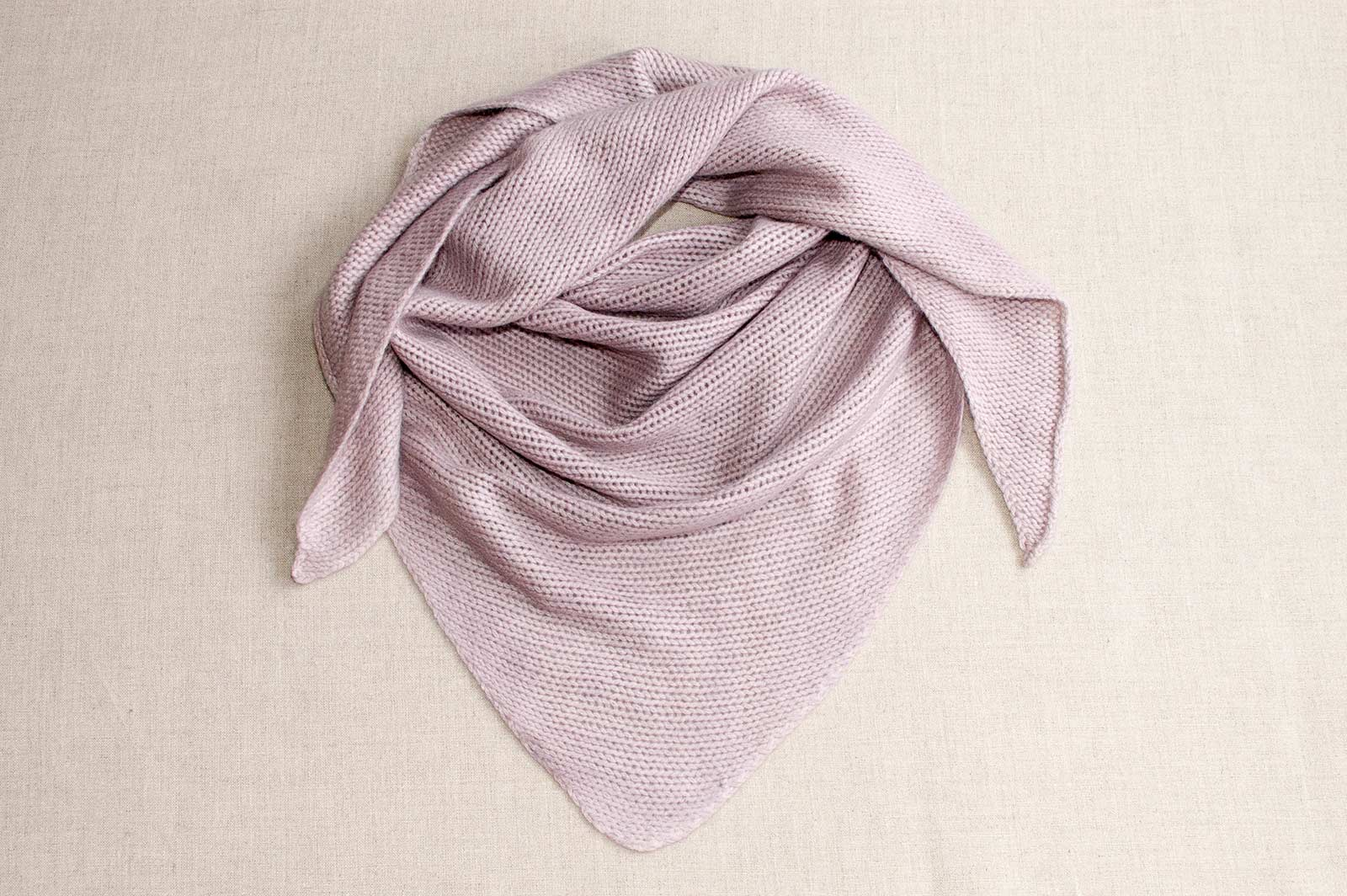 Cashmere Triangle Scarf Kits