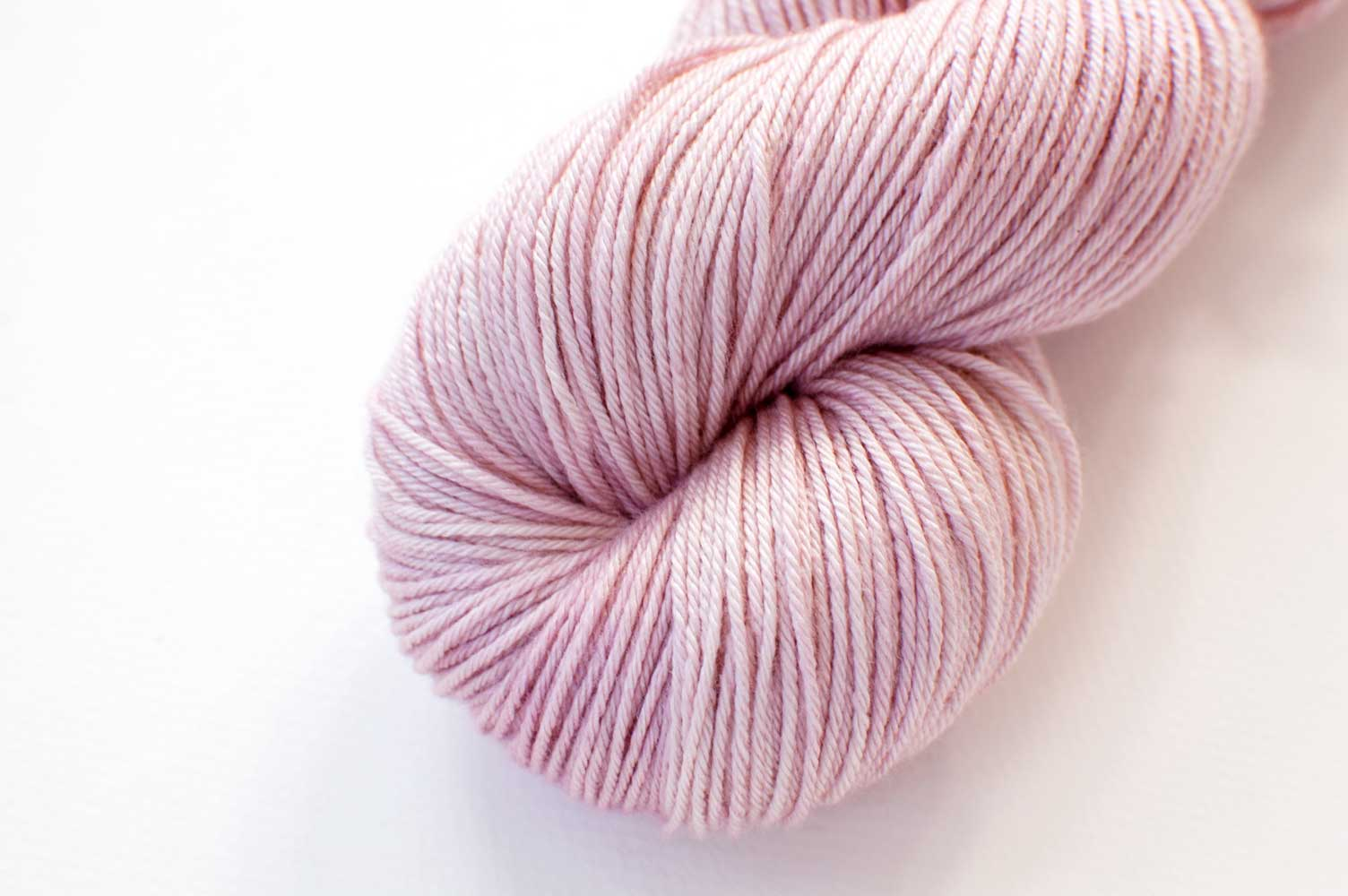 Bamboo Sock Mini Skein in Rose Quartz