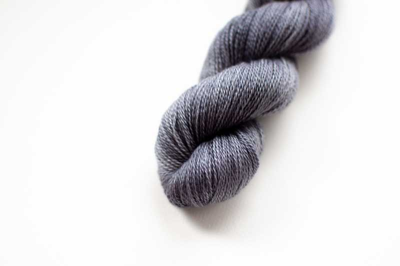 Silk Cashmere Cloud in Silver Fox