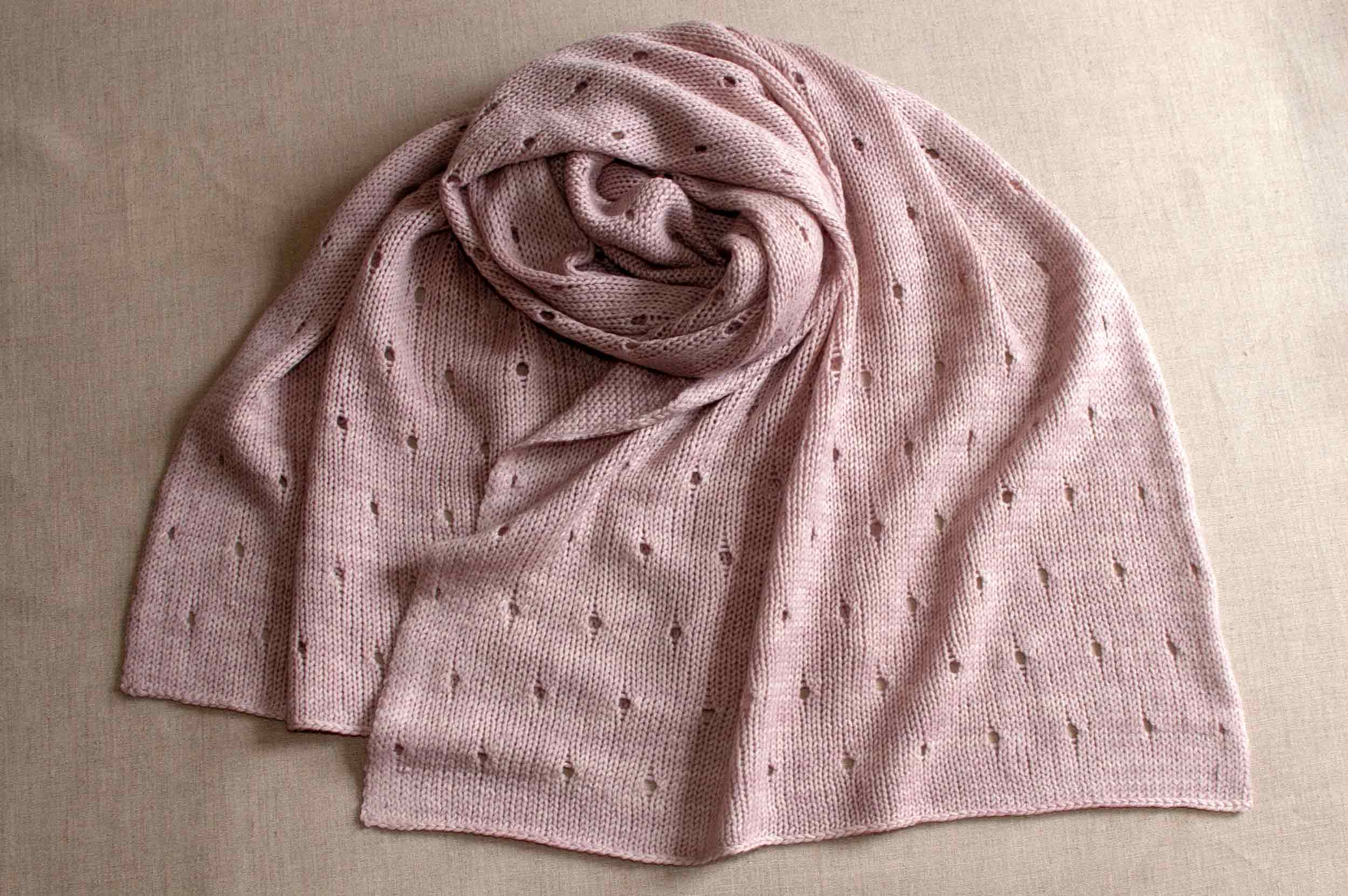 PDF Knitting Pattern Download // The Cora Wrap