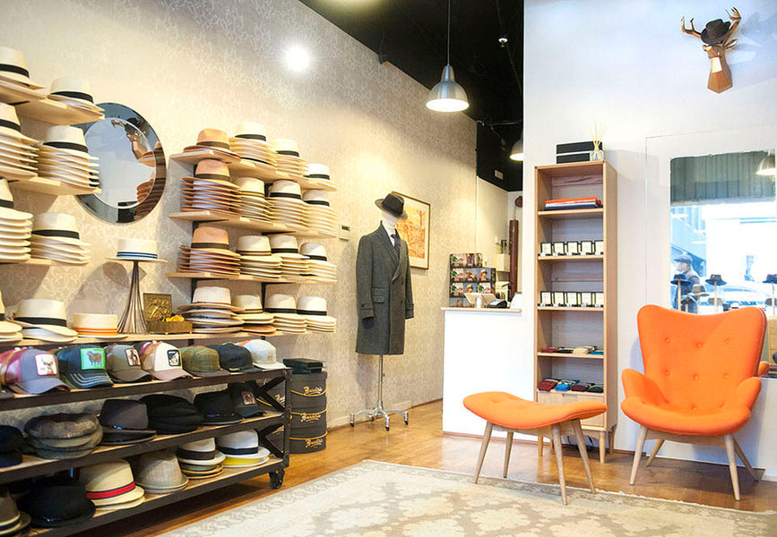 Fortis Green Stockist Profile - Grand Hatters