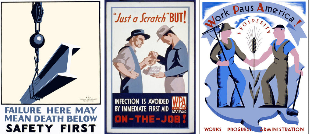 WPA Community service posters