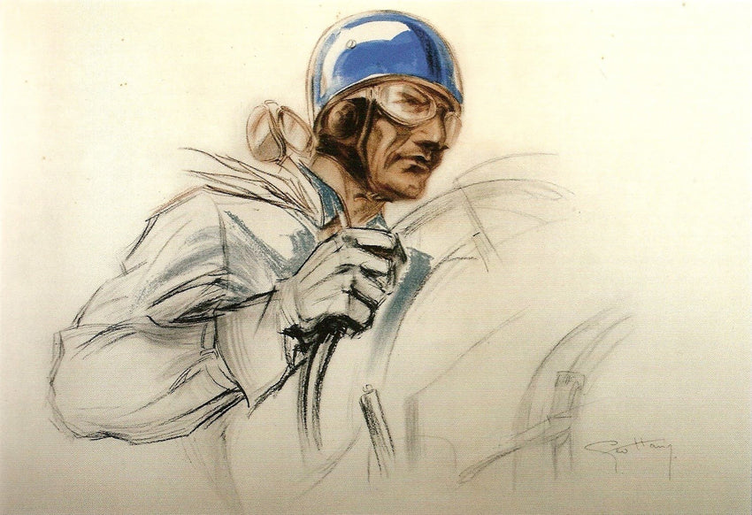 Motorsport illustration by Géo Ham