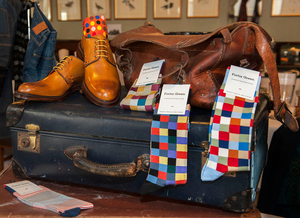 Fortis Green socks at 2015 Festival of Steve in Melbourne
