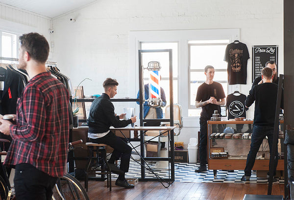 Menske Winter 2015 men's project at Melbourne's Allpress Studio.