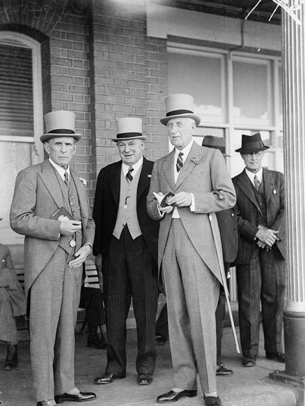 Morning Suits Sydney 1937
