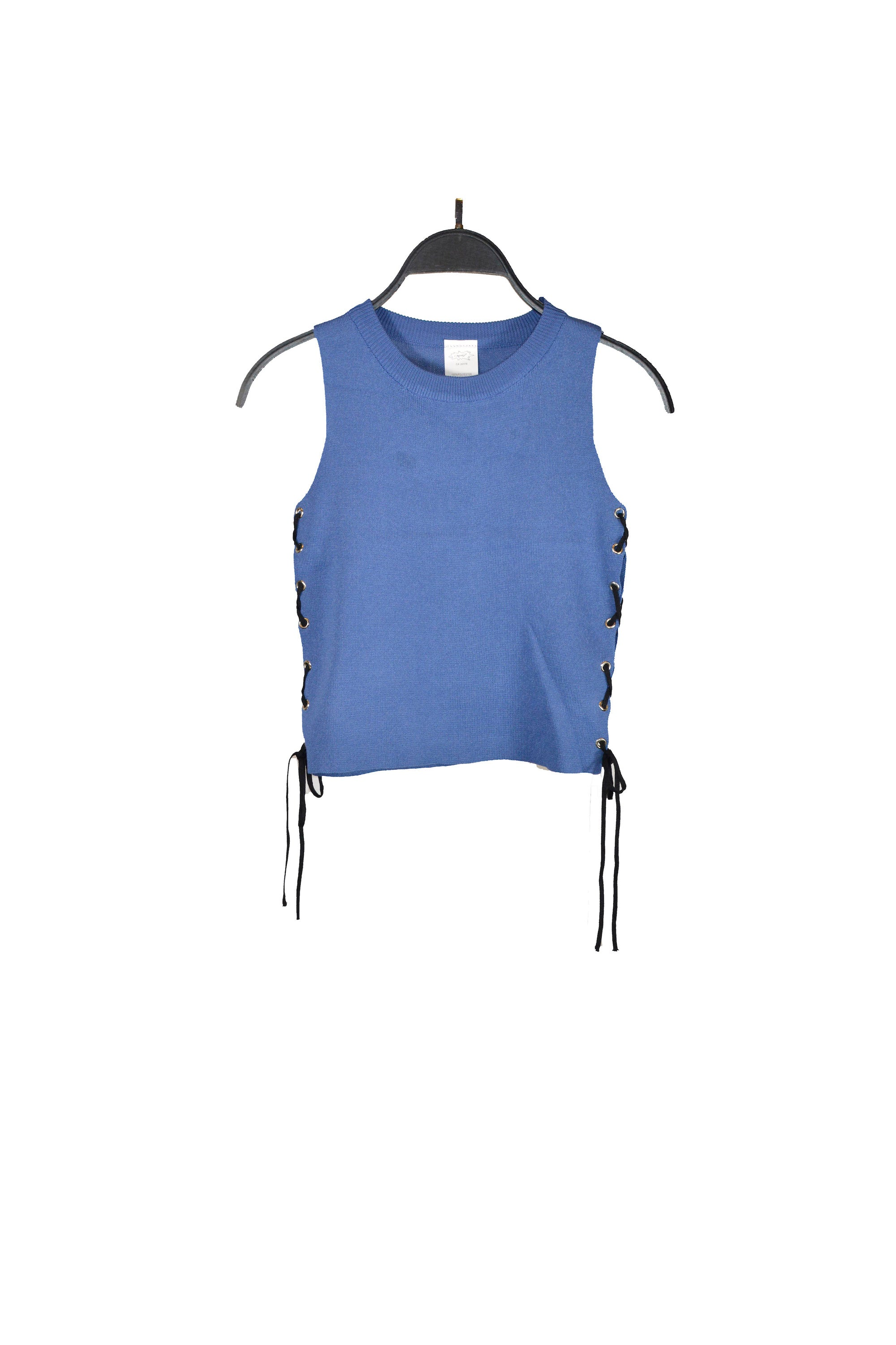 Copy of Blue Side Lace-Up Tank Top
