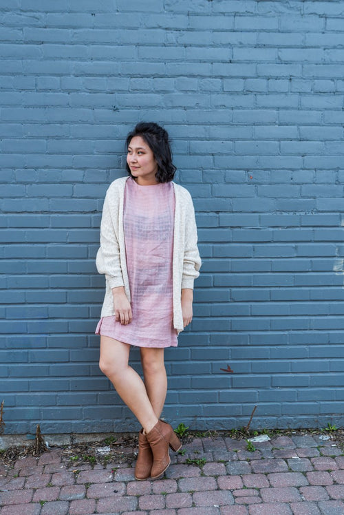 Cream Cocoon Cardigan!