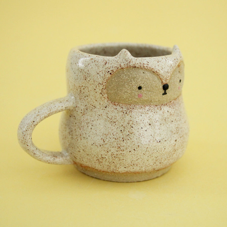 Fox Cup - Speckled Cream