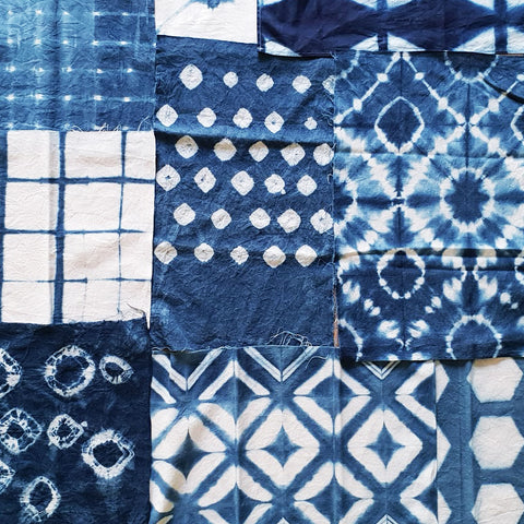 Shibori Indigo Workshop 21 Sept 2019(Sat.)