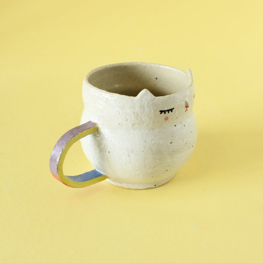 Kitty Cup - Color block