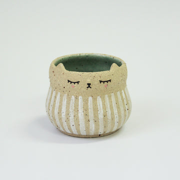 Kitty Pot (Small) - Stripe