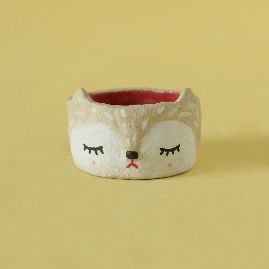Mini Kitsune Hanging Planter