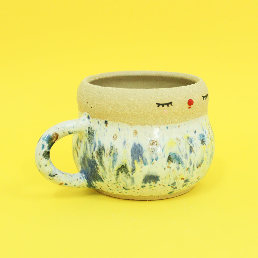Pierrot Cup - Speckled Rainbow