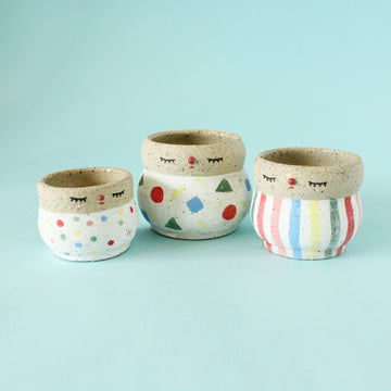 Pierrot Pot (Small) - Set of 3
