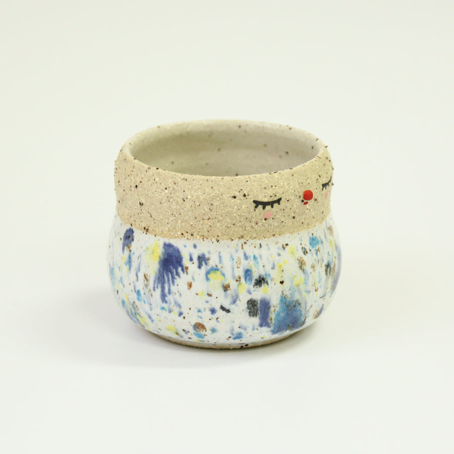 Pierrot Pot - Speckled Rainbow (S)