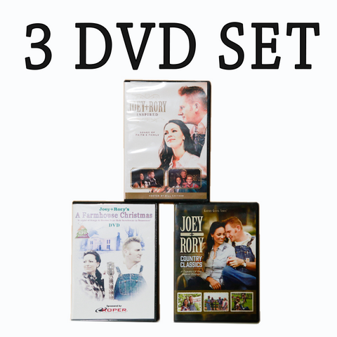 A Farmhouse Christmas CD/DVD Collection – Joey+Rory Store