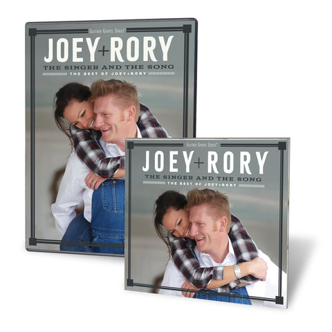 "Joey+Rory ""The Singer and the Song - The Best of Joey+Rory"" CD/DVD Combo"