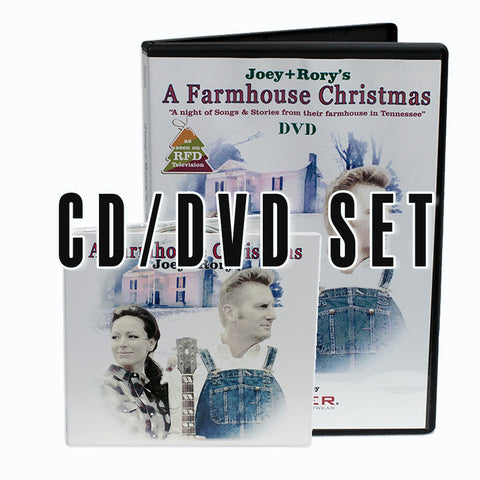 A Farmhouse Christmas CD/DVD Collection