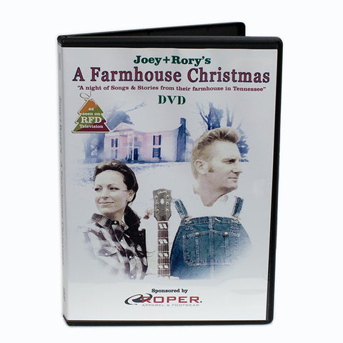 A Farmhouse Christmas DVD