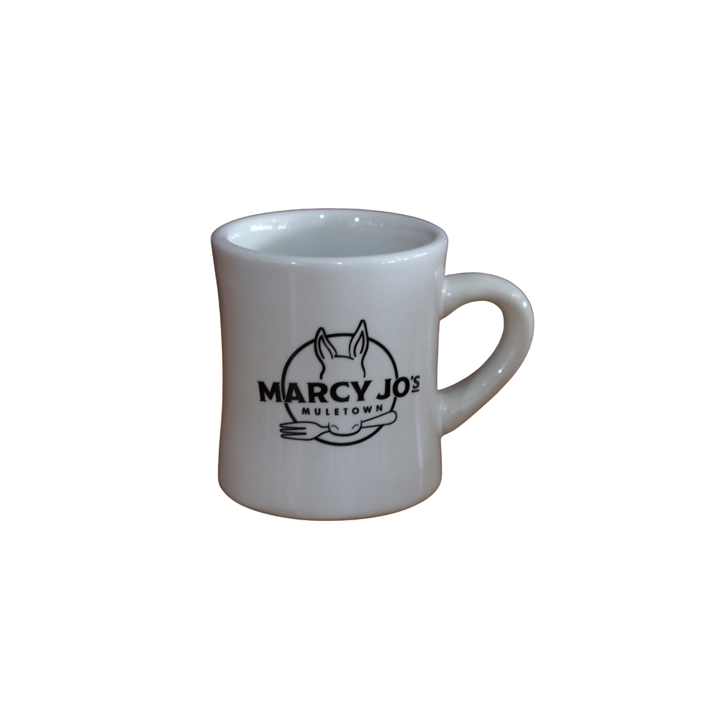 Marcy Jo's Muletown coffee mug