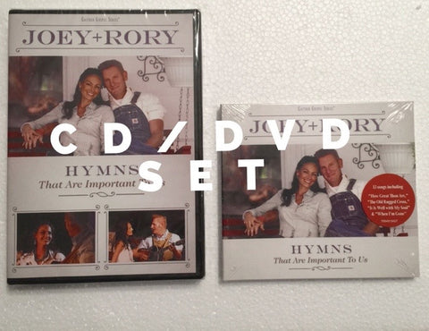 Hymns That are Important to Us CD/DVD Collection