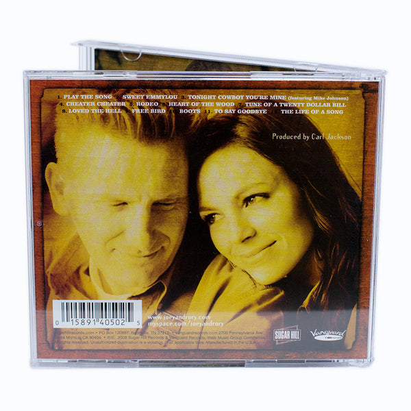 Life Of A Song Cd Joey Rory Store