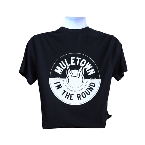 Muletown In The Round black tee shirt