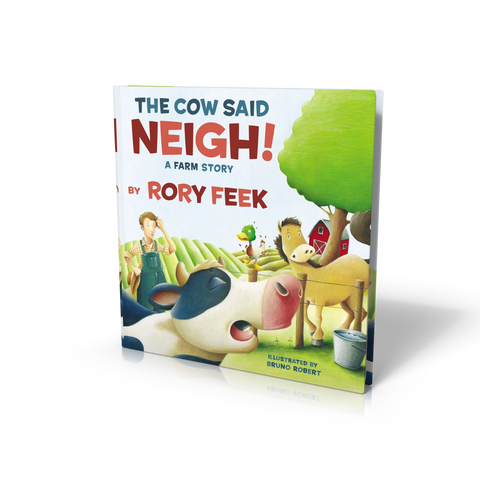 "Autographed Copy of ""The Cow Said Neigh - A Farm Story"" (Board Book)"