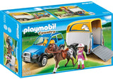 PLAYMOBIL 5223 SUV with Horse Trailer
