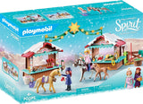 PLAYMOBIL 70395 SPIRIT RIDING FREE Miradero Christmas Market